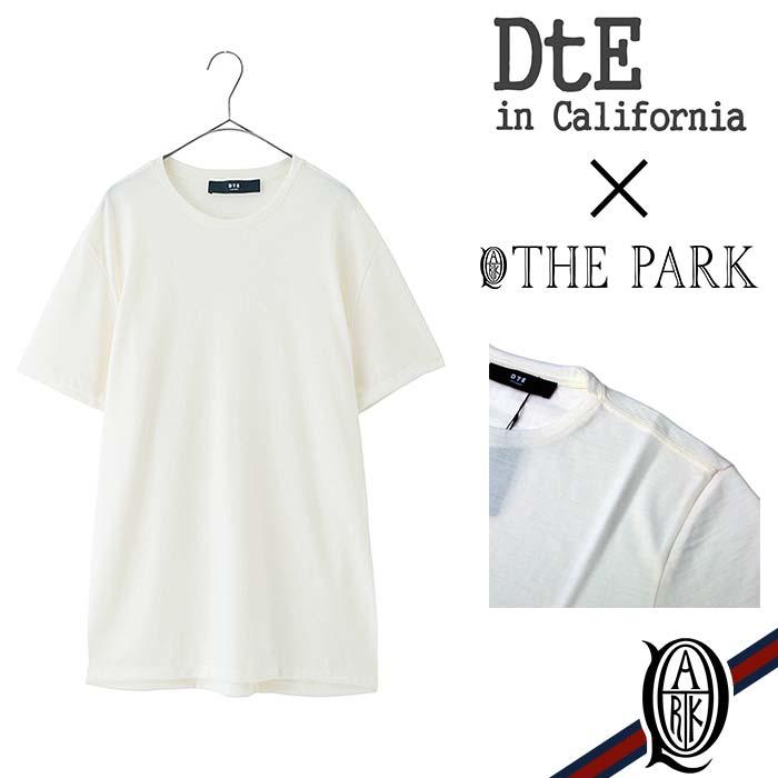 【正規取扱店】DtE in California Wool T-Shirts WHITE (ディーティーイーインカリフォルニア)