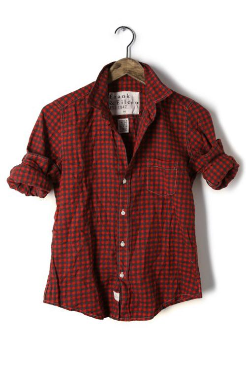 【正規取扱店】Frank&Eileen BARRY RDPKF レディースシャツ FLANNEL フランクアンドアイリーン バリー