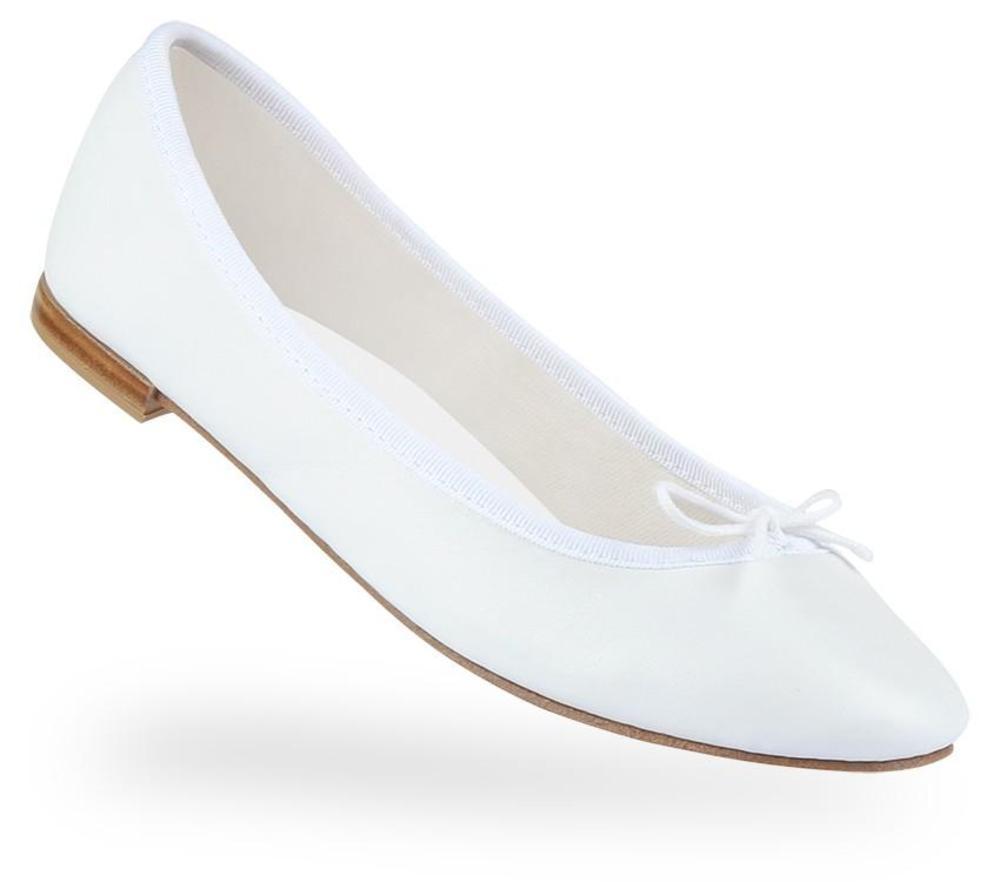 【正規取扱店】repetto Ballerina Cendrillon Vegetal like White 牛革 ホワイト (レペット) (サンドリオン レペット)
