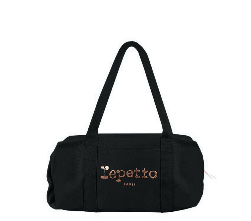 【正規取扱店】repetto レペット Duffle bag Glide BLACK