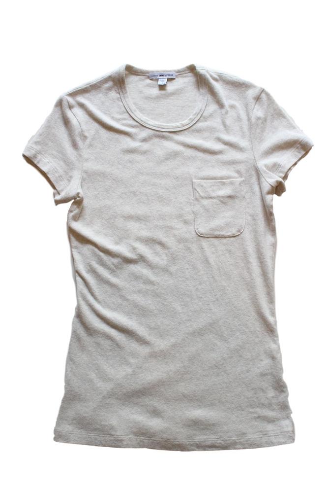 【正規取扱店】JAMES PERSE WMU3466 ジャージーポケットTシャツ HTNT (ジェームスパース)