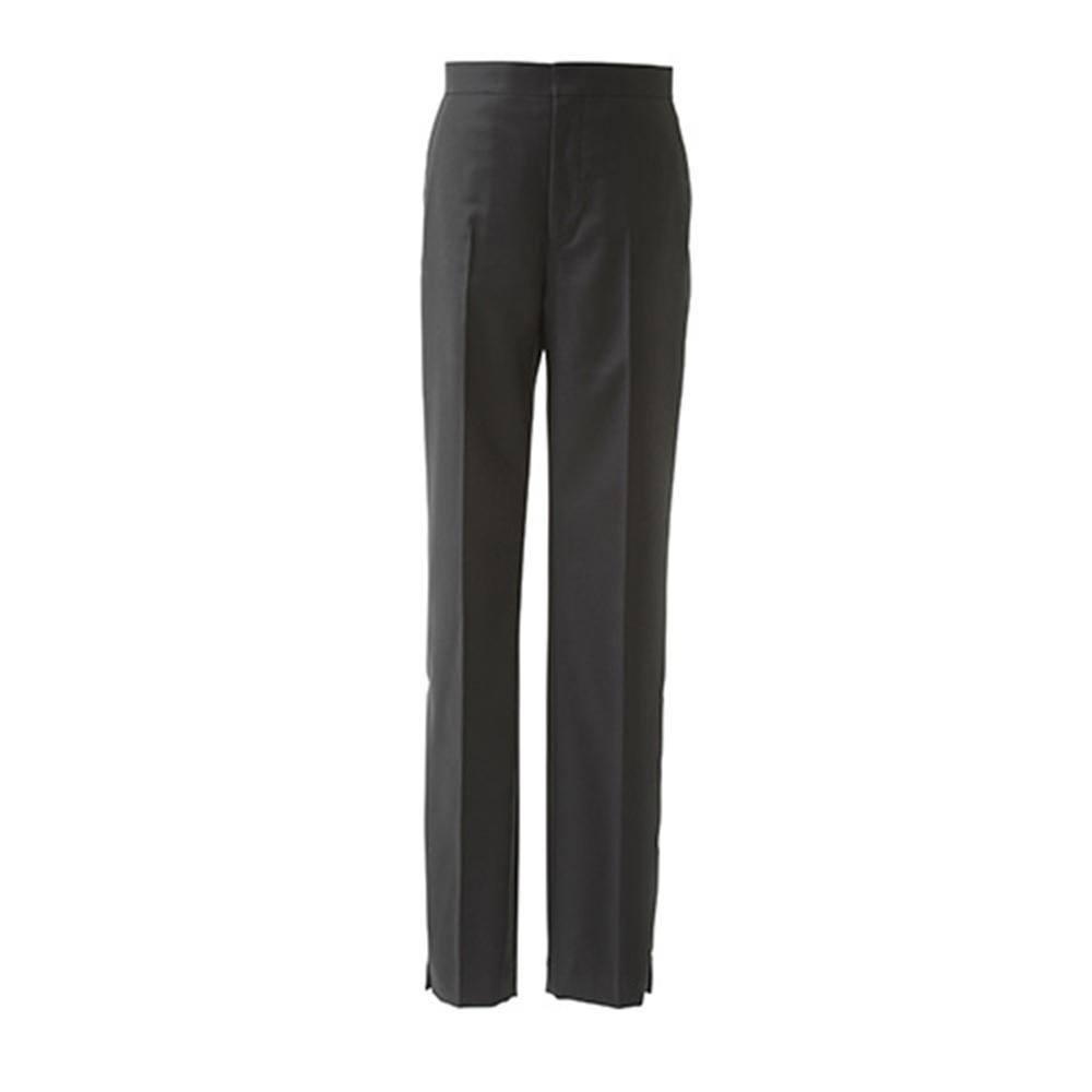 【正規取扱店】beautiful people 17-18A/W loropiana twill slim pants navy (ビューティフルピープル)