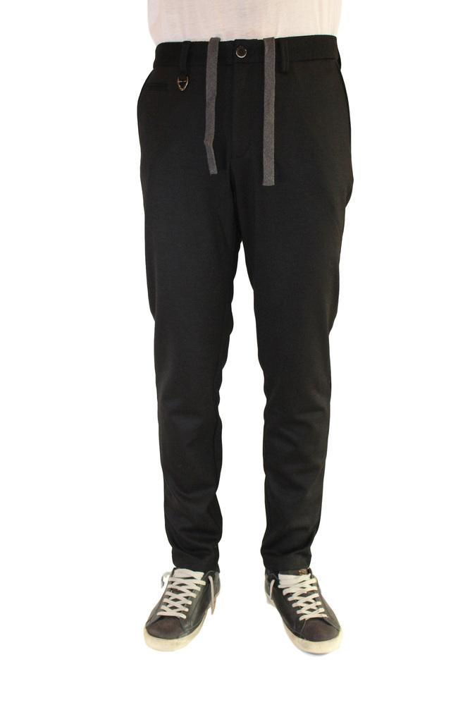 【正規取扱店】SOLIDO ソリード ウールジャージーパンツ PAVONE BLACK
