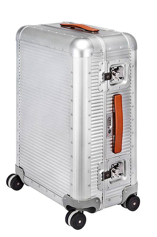 【正規取扱店】FPM ファブリカ ペレッテリエ ミラノ スーツケース BANK Spinner 68 by Marc Sadler バンク スピナー68 SILVER