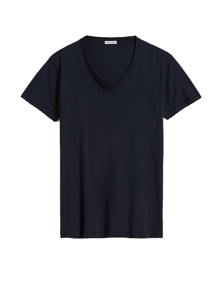 【正規取扱店】tomas maier MEN'S 18S/S scoop neck t-shirt 4003 BLAZER (トーマスマイヤー メンズ)