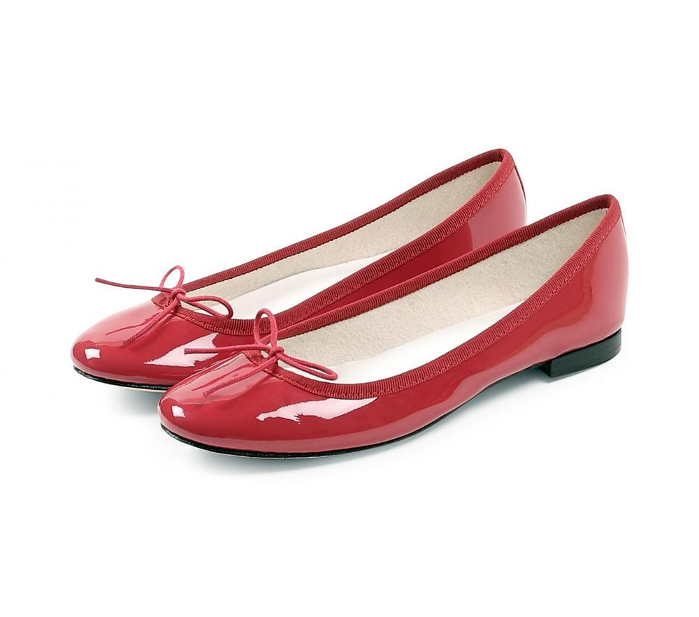 repetto レペット Ballerina Cendrillon サンドリオン Patent Red