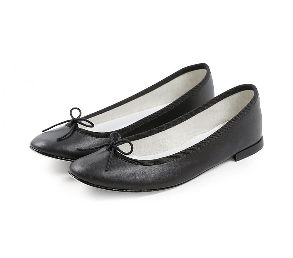 【正規取扱店】repetto Ballerina Cendrillon Black (レペット) (サンドリオン レペット)