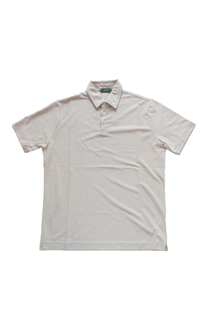 【正規取扱店】ZANONE ザノーネ アイスコットンポロシャツ 811818 Polo Shirt ice cotton Z0998 LIGHT BEIGE