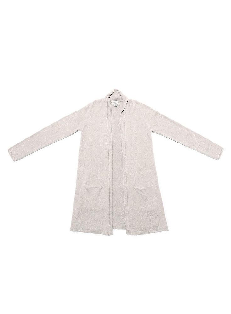 【正規取扱店】Barefoot Dreams 428 Essential Long Cardigan beige (ベアフットドリームス)