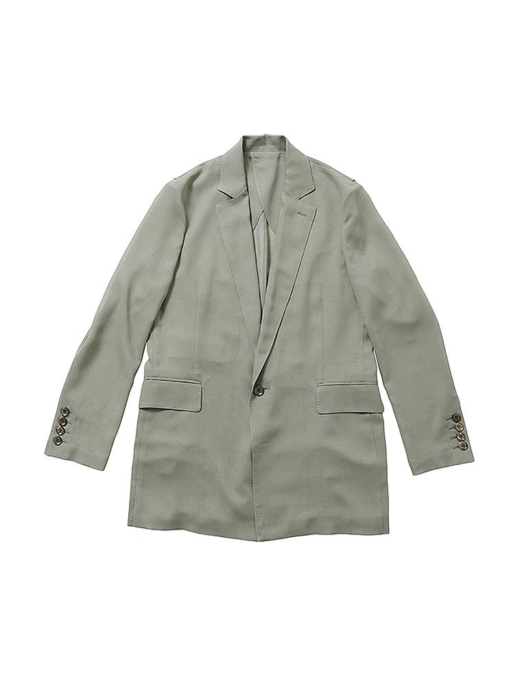 【正規取扱店】beautiful people 18-19A/W シアーウールライトジャケット olive (ビューティフルピープル)