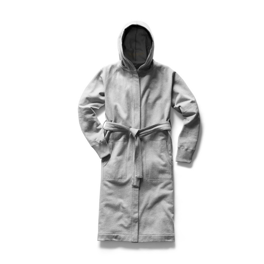 【正規取扱店】REIGNING CHAMP HOODED ROBE ローブ RC-3352 MIDWEIGHT TERRY H.GREY (レイニングチャンプ)