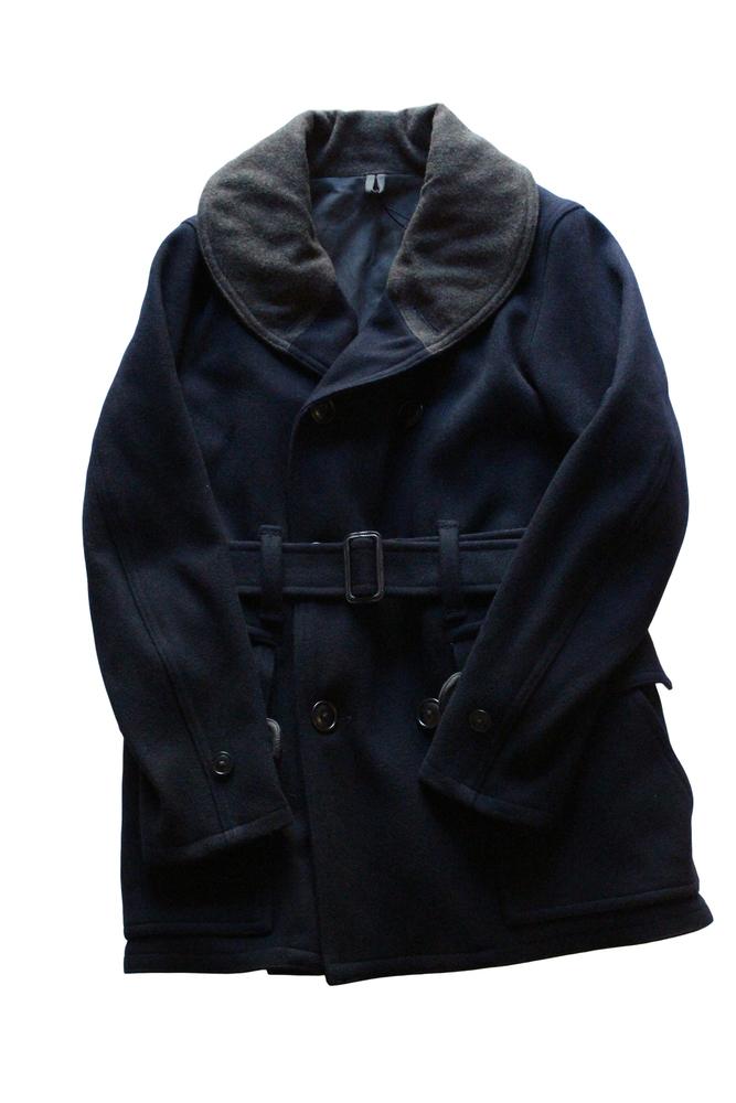 【正規取扱店】NIGEL CABOURN 18-19A/W JEEP COAT ジープコート NAVY (ナイジェルケーボン)