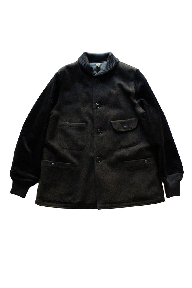 【正規取扱店】NIGEL CABOURN 18-19A/W PHARAOH JACKET ファラオ ジャケット DARK GREEN (ナイジェルケーボン)