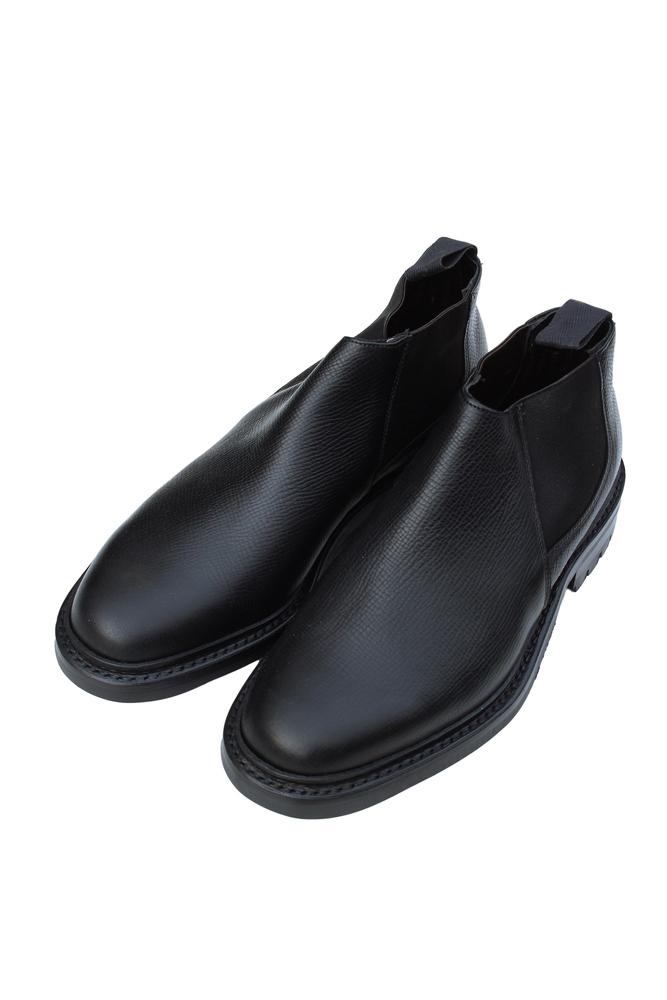 【正規取扱店】CHEANEY ジョセフ チーニー OWEN ショートサイドゴアブーツ JUPITAR CALF BLACK