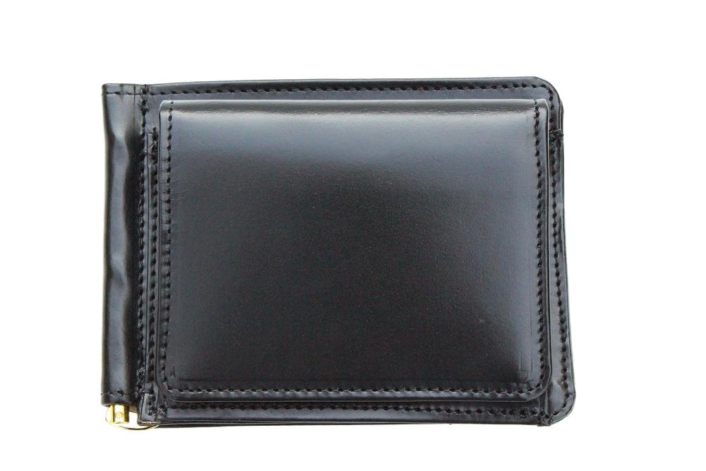 GLENROYAL グレンロイヤル MONEY CLIP WITH COIN POCKET 小銭入れ付マネークリップ BLACK