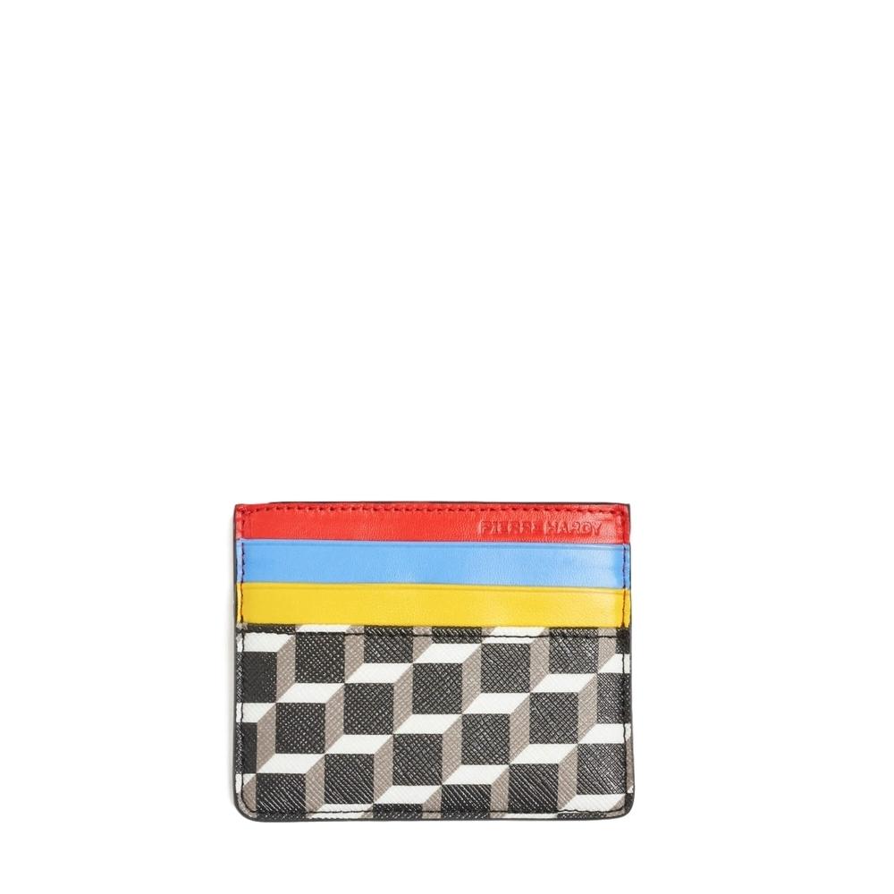 【正規取扱店】PIERRE HARDY ピエールアルディ 19S/S カードケース BK-WHT-BLUE