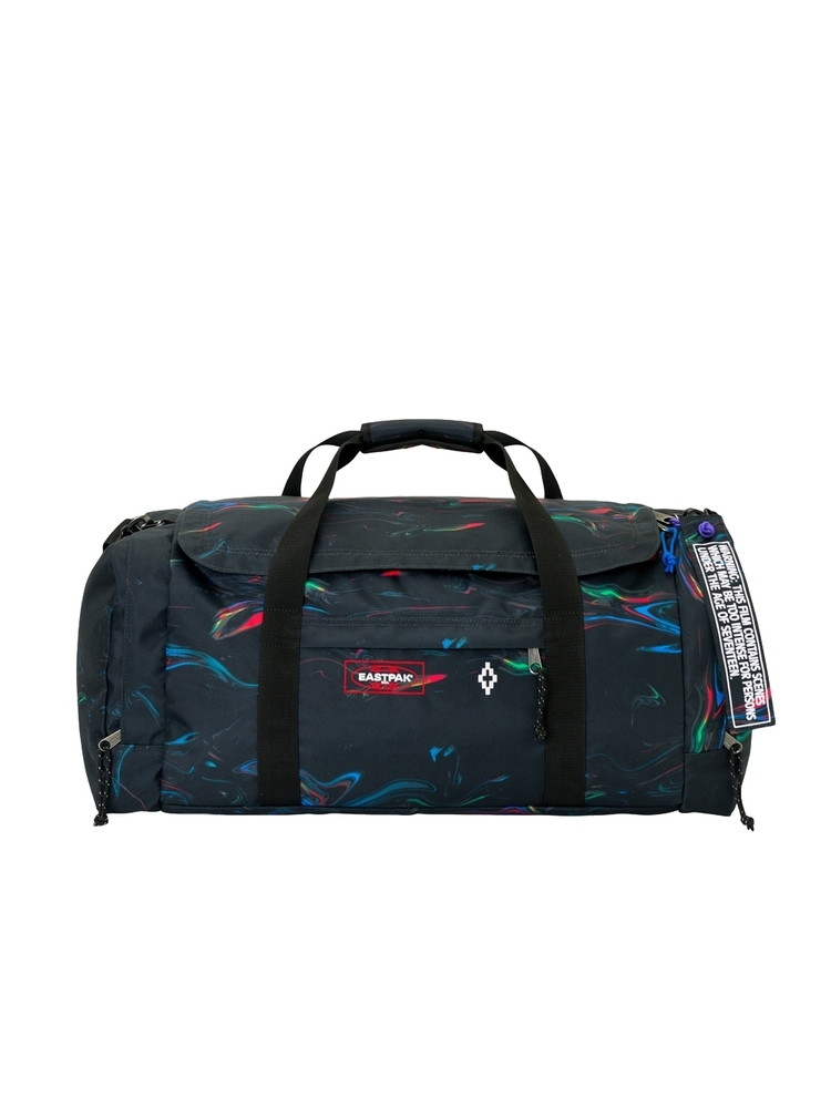 MARCELO BURLON マルセロ ブロン ALL OVER EASTPACK GYM BAG MULTICOLOR WHITE