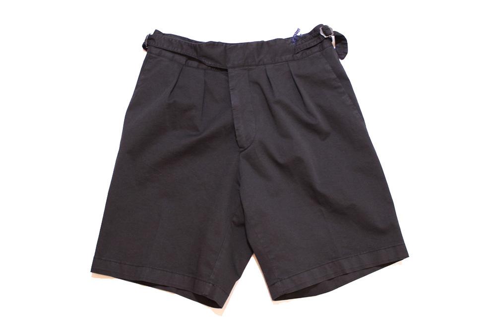 【正規取扱店】LARDINI ラルディーニ 19S/S グルカショートパンツ BLACK