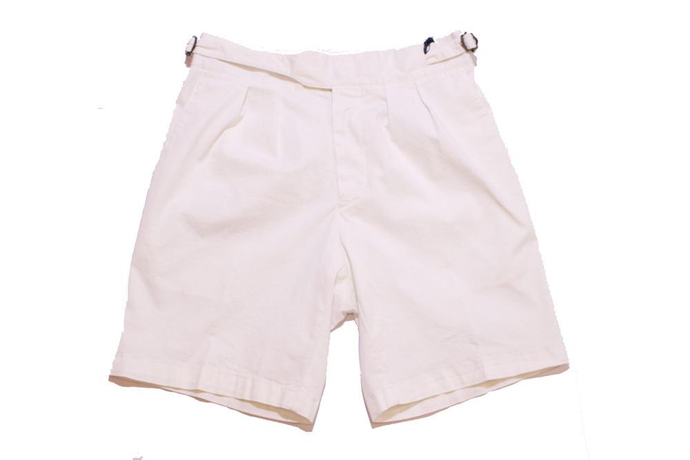 【正規取扱店】LARDINI ラルディーニ 19S/S グルカショートパンツ WHITE