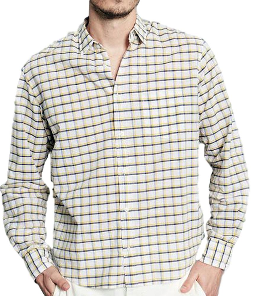 【正規取扱店】Frank&Eileen DON YGCB メンズシャツ (フランクアンドアイリーン)