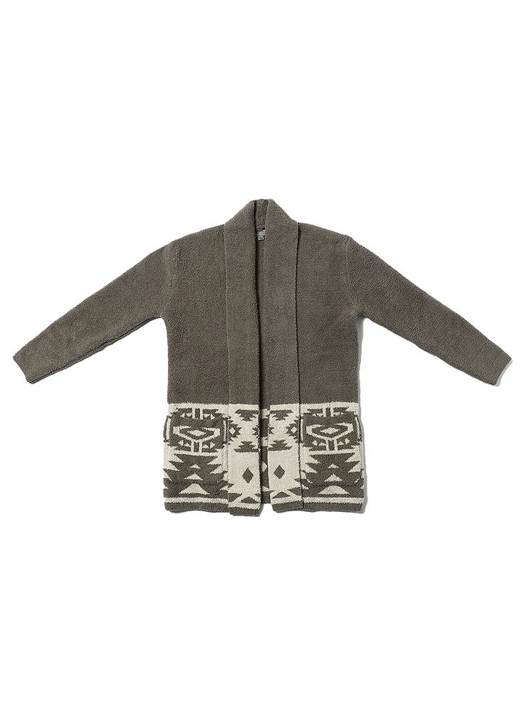 Barefoot Dreams ベアフットドリームス SZMCC1312 MENS SW MOTIF COAT CH GREY