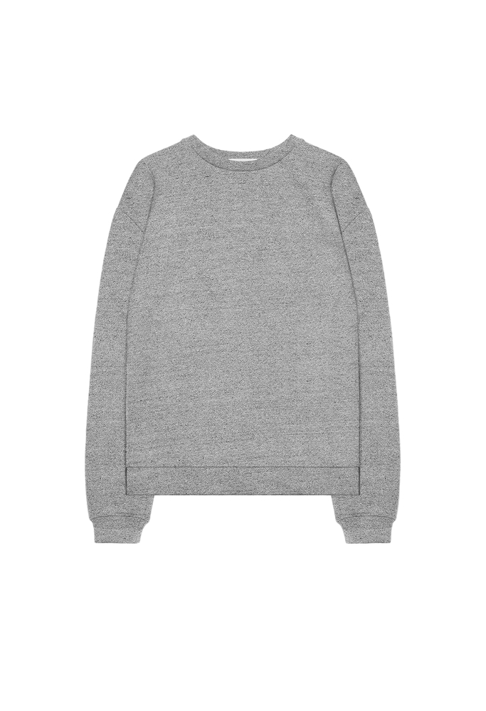 【正規取扱店】JOHN ELLIOTT OVERSIZED CREWNECK PULLOVER DARK GREY (ジョンエリオット)