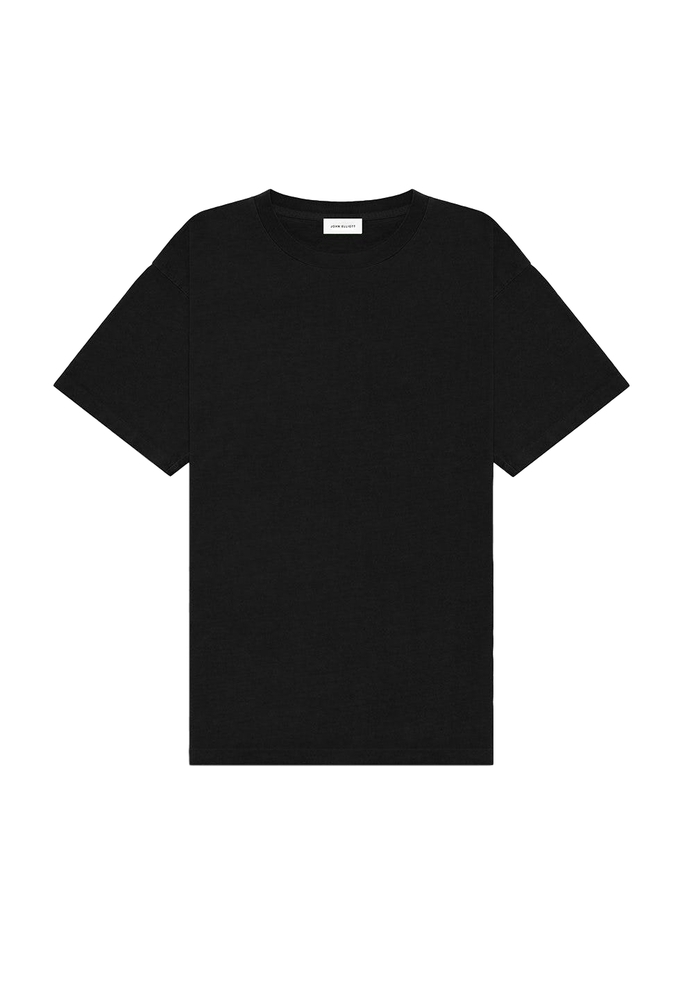 【正規取扱店】JOHN ELLIOTT UNIVERSITY TEE BLACK (ジョンエリオット)