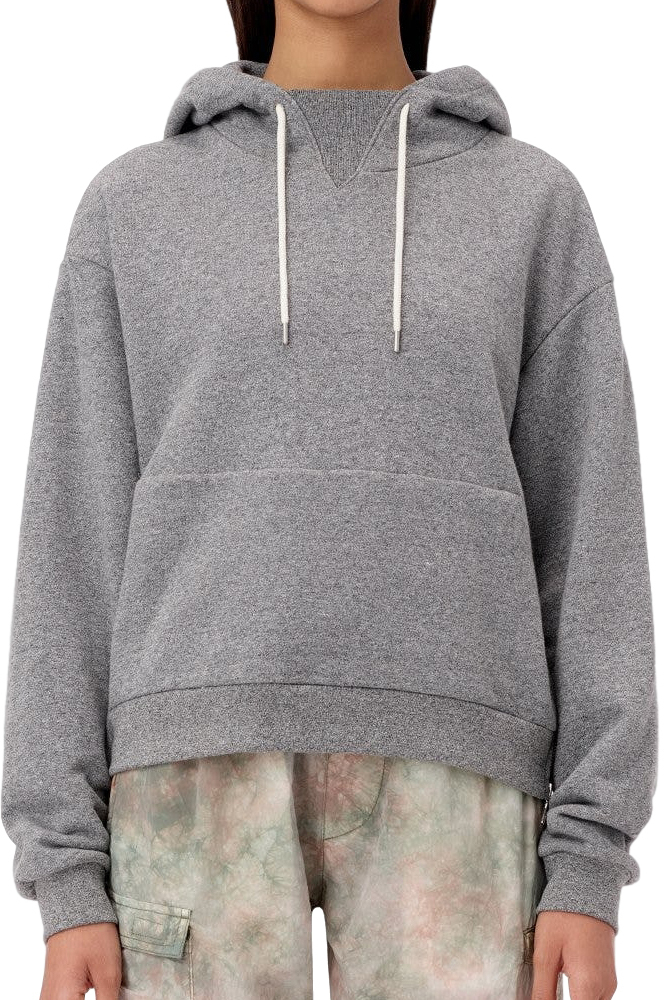 JOHN ELLIOTT ジョンエリオット WOMEN'S HOODED VILLAIN DARK GREY