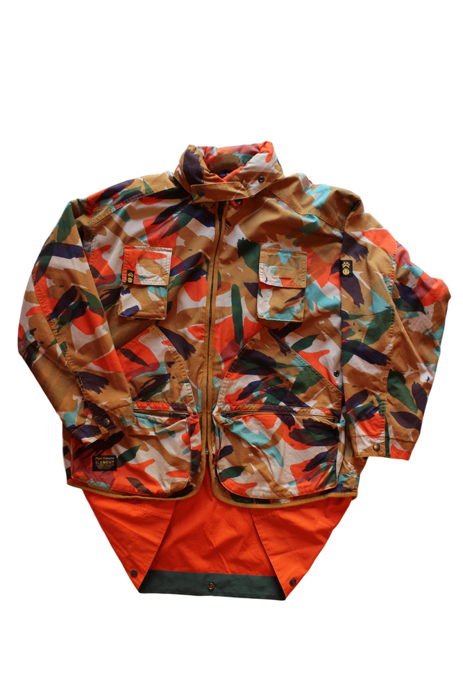 NIGEL CABOURN ナイジェルケーボン ALDER HUNTING PARKA ORANGE