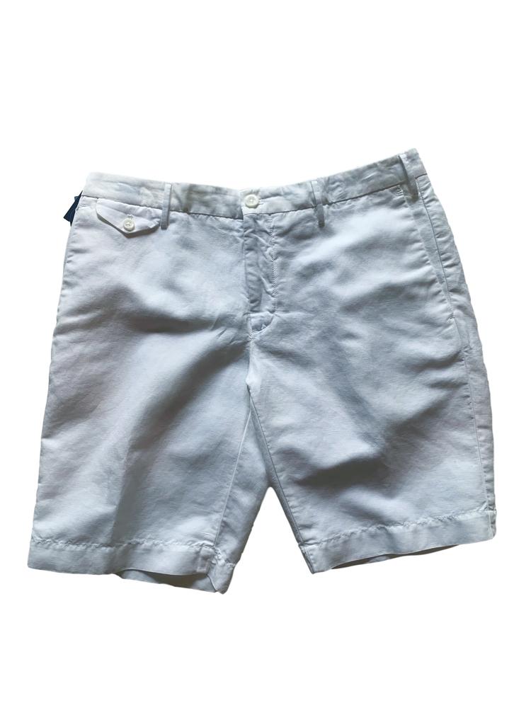 【正規取扱店】INCOTEX ショートパンツ 1AW139 001 WHITE (インコテックス)