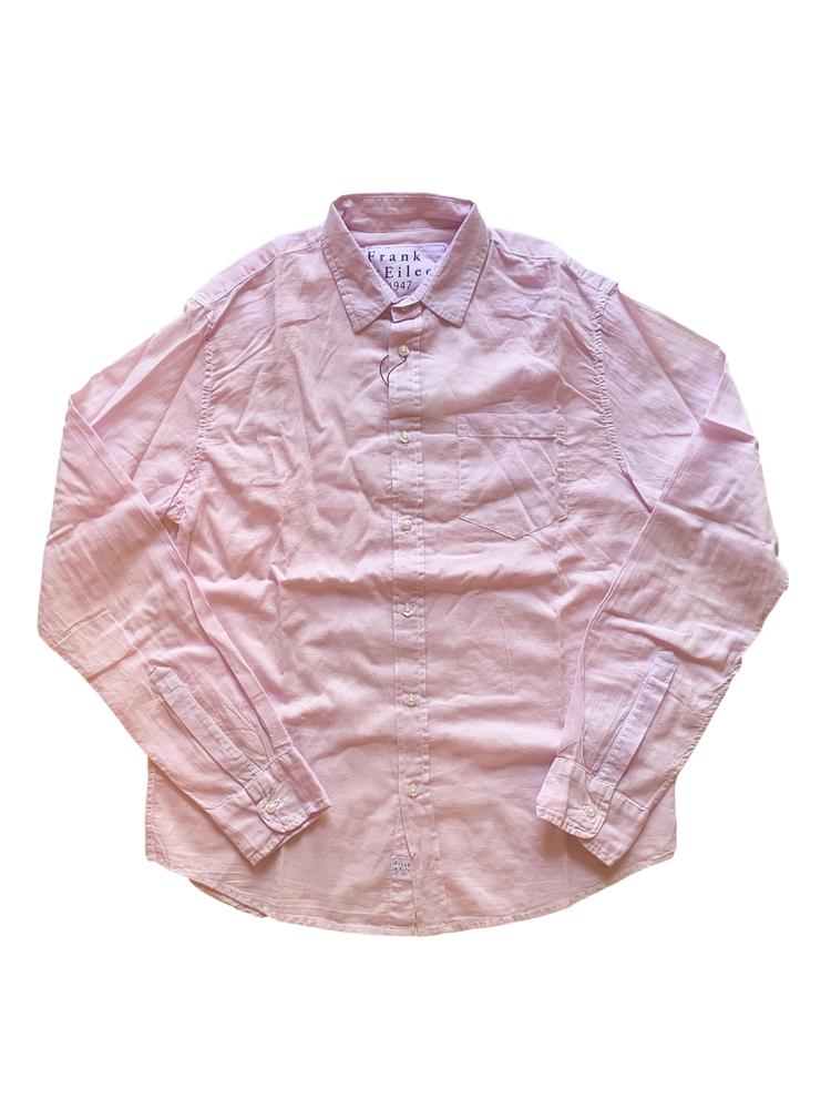 【正規取扱店】Frank&Eileen LUKE F226 メンズシャツ VOILE LIGHT PURPLE (フランクアンドアイリーン ルーク)