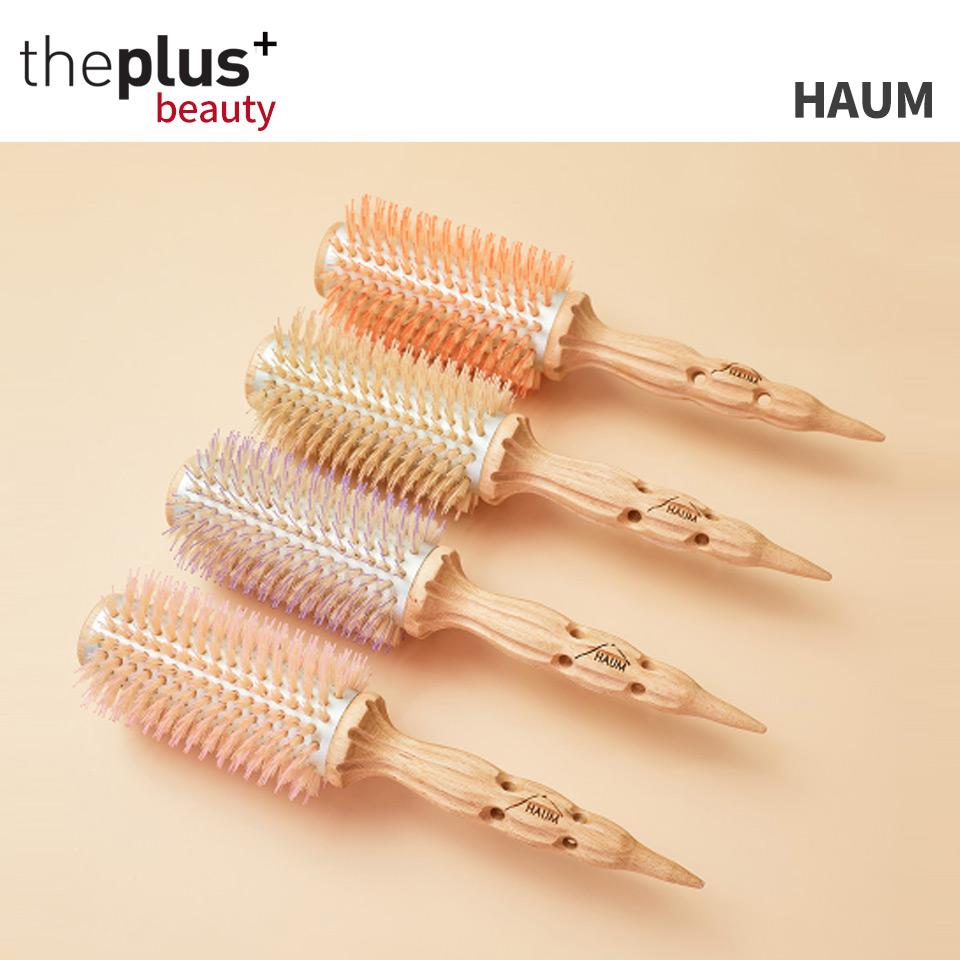 韓国有名ヘアデザイナープロデュース HAUM 特価 ハウム ヘアロールブラシ 送料無料 Hair Brush いつでも送料無料 Roll 韓国コスメ ブラシ ヘア