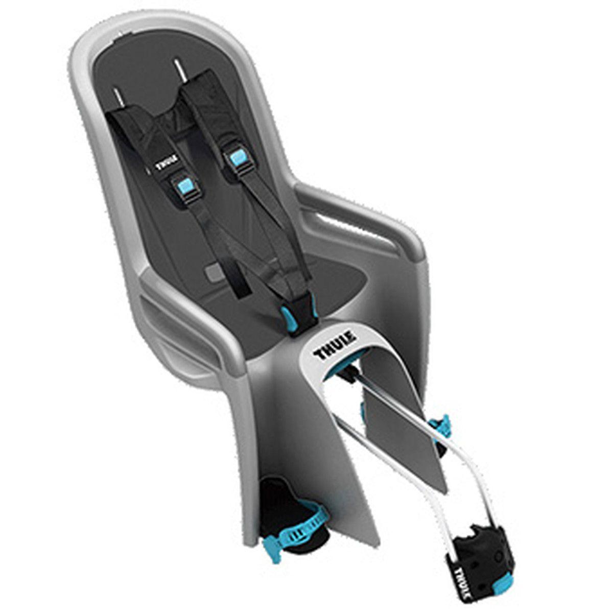 リクライニング・シートベルトアジャストなどが付いた上級モデル THULE/スーリー Thule Ride Along V2 (ライド アロング V2) ライトグレー チャイルドシート 自転車用品