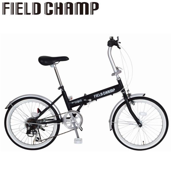 ミムゴ 365 FIELD CHAMP/フィールドチャンプ FDB20 6S 20インチ ブラック(MG-FCP206)自転車本体 折りたたみ自転車