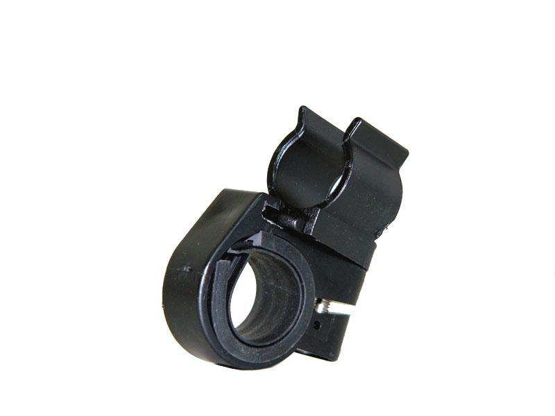 お手持ちの円筒型ライトが自転車用になる 簡単取付ライトホルダー Mサイズ 自転車用品 20-26mm ☆正規品新品未使用品 出群