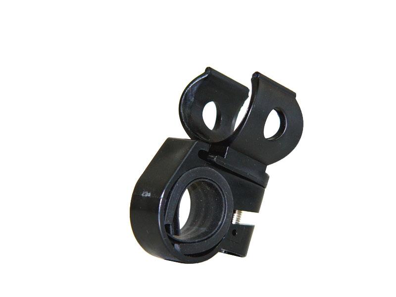 お手持ちの円筒型ライトが自転車用になる 簡単取付ライトホルダー 新色追加 Lサイズ 公式ショップ 自転車 27-32mm
