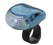 税込3 980円以上購入で送料無料 例外地域あり 値引き SALE Smart スマート Super ストア BL-202 自転車 セーフティライト LED ポケットライト クリアブルー White