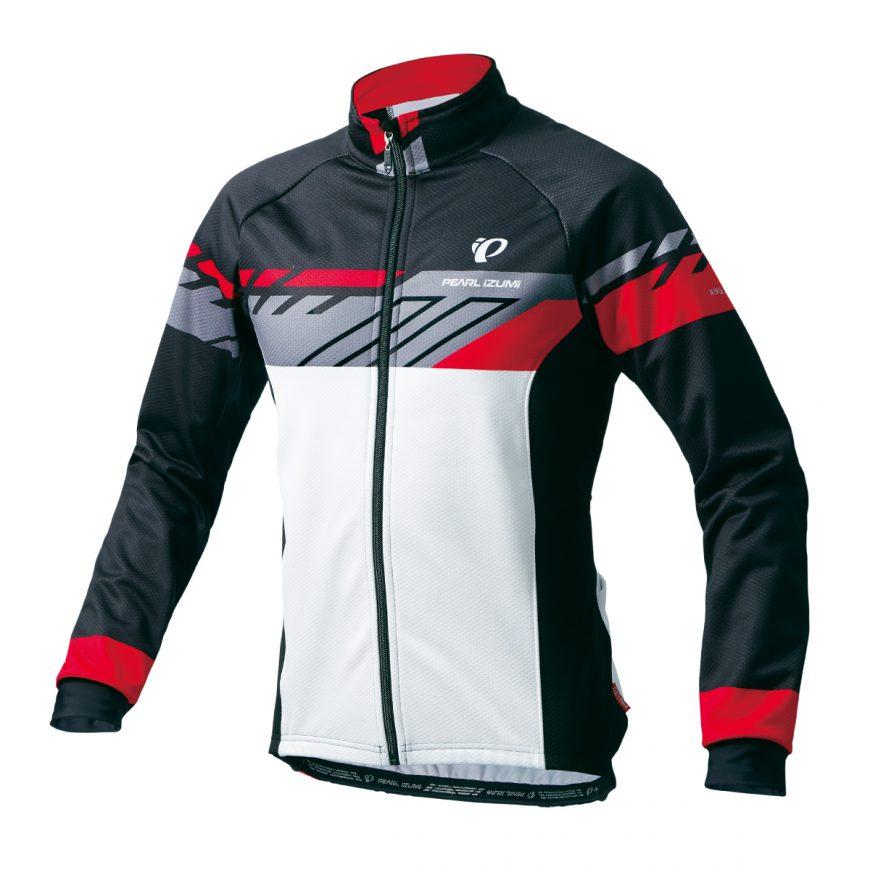 PEARL IZUMI パールイズミ ウィンドブレークプリントジャケット XLサイズ ブラック 3555-BL-3-XL 自転車用品 サイクルウェア サイクルジャケット