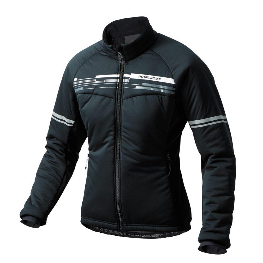 PEARL IZUMI パールイズミ ストレッチ インサレーションジャケット Lサイズ ブラック W7900-BL-7-L 自転車用品 サイクルウェア