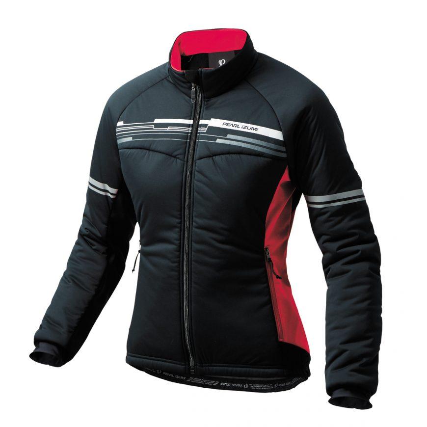 PEARL IZUMI パールイズミ ストレッチ インサレーションジャケット Lサイズ カーディナルレッド W7900-BL-8-L 自転車用品 サイクルウェア
