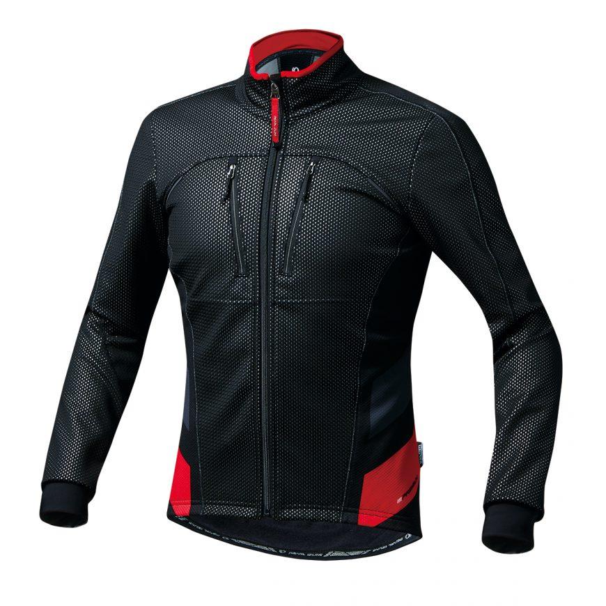 PEARL IZUMI パールイズミ プレミアム ウィンドブレークジャケット Lサイズ レッド 1500-BL-2-L 自転車用品 サイクルウェア サイクルジャケット