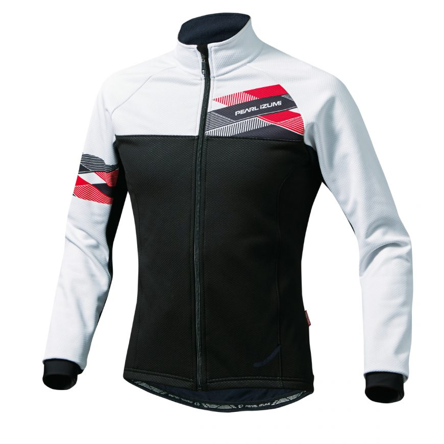 PEARL IZUMI パールイズミ ウィンドブレーク ジャケット Lサイズ ホワイト 3500-BL-2-L 自転車用品 サイクルウェア サイクルジャケット