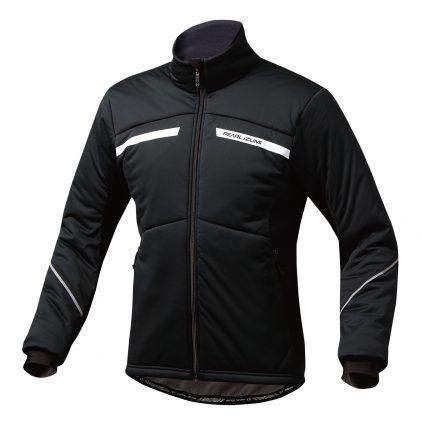 PEARL IZUMI パールイズミ ストレッチ インサレーションジャケット Mサイズ ブラック 3900-BL-8-M 自転車用品 サイクルウェア サイクルジャケット