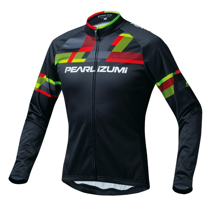 PEARL IZUMI パールイズミ プリント ジャージ Lサイズ パールイズミレッド 3455-BL-1-L 自転車用品 サイクルウェア サイクルジャージ