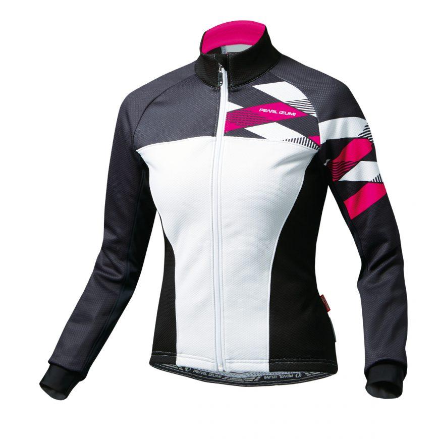 PEARL IZUMI パールイズミ ウィンドブレーク ジャケット Lサイズ ピンク W7500-BL-17-L 自転車用品 サイクルウェア