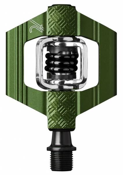crankbrothers/クランクブラザーズ ペダル CANDY2/キャンディ2 グリーン(574653) ビンディングペダル MTB用