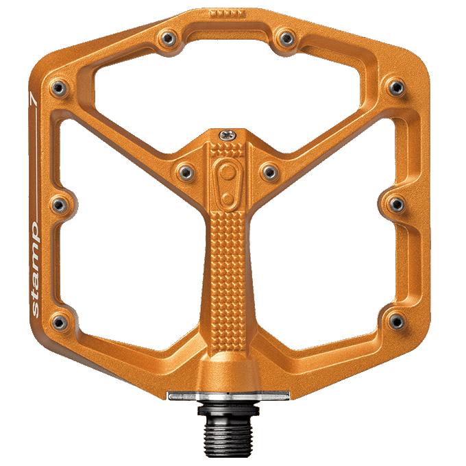 世界的に crankbrothers/クランクブラザーズ ペダル STAMP STAMP 7 Ltd./スタンプ 7 COLOR Ltd. COLOR LARGE オレンジ(577576) フラットペダル, エフシーインテリア:23dc4d6c --- nuevo.wegrowcrm.com