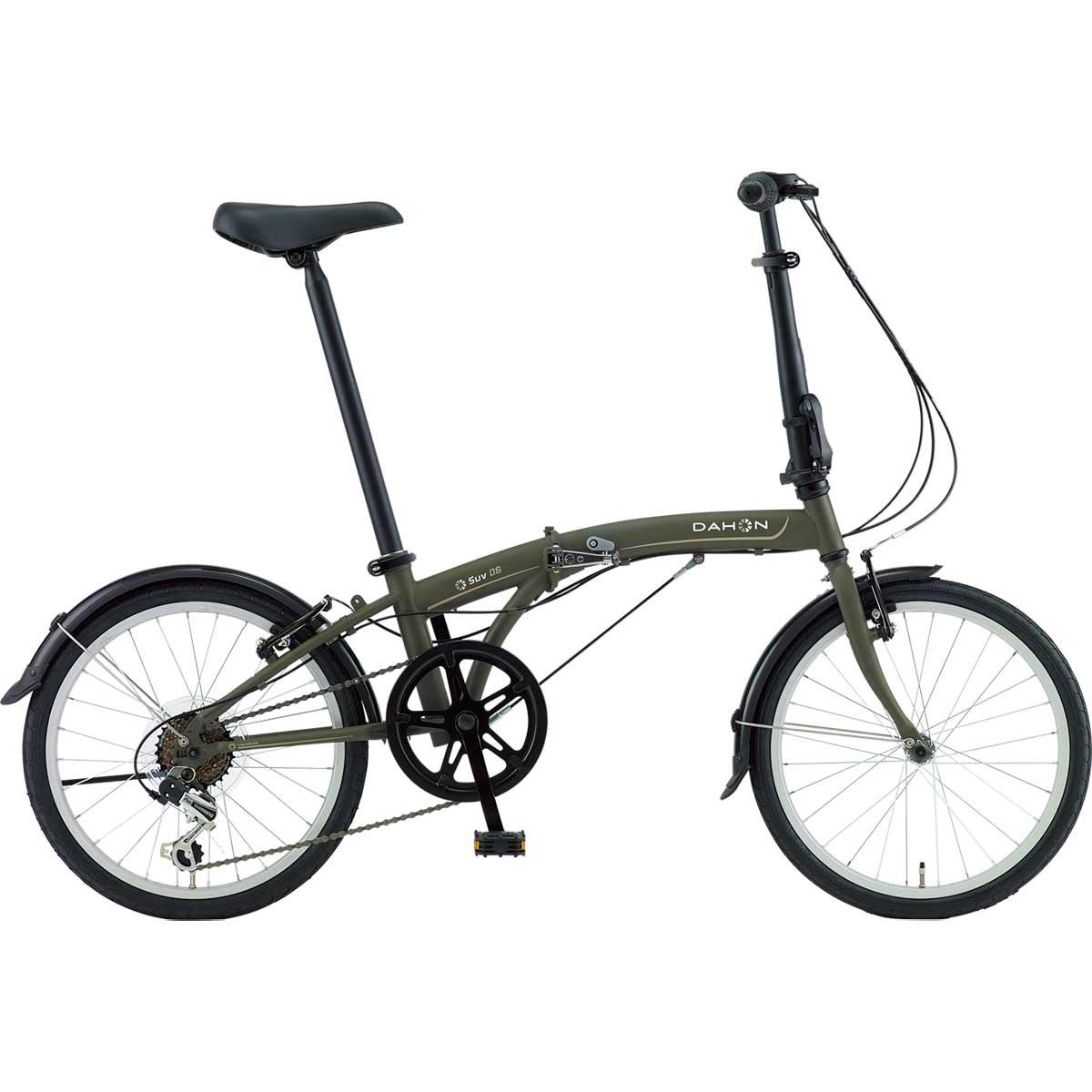 DAHON/ダホン SUV D6 エスユーヴィー D6 マットカーキ(9000) 折りたたみ自転車 自転車本体