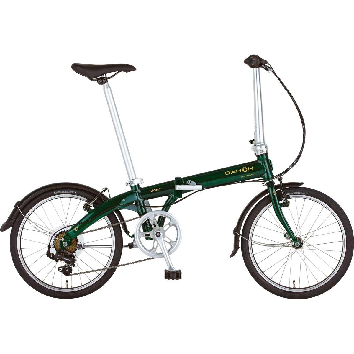 DAHON/ダホン Vybe D7 ヴァイブ D7 ブリティッシュグリーン(9035) 折りたたみ自転車 自転車本体