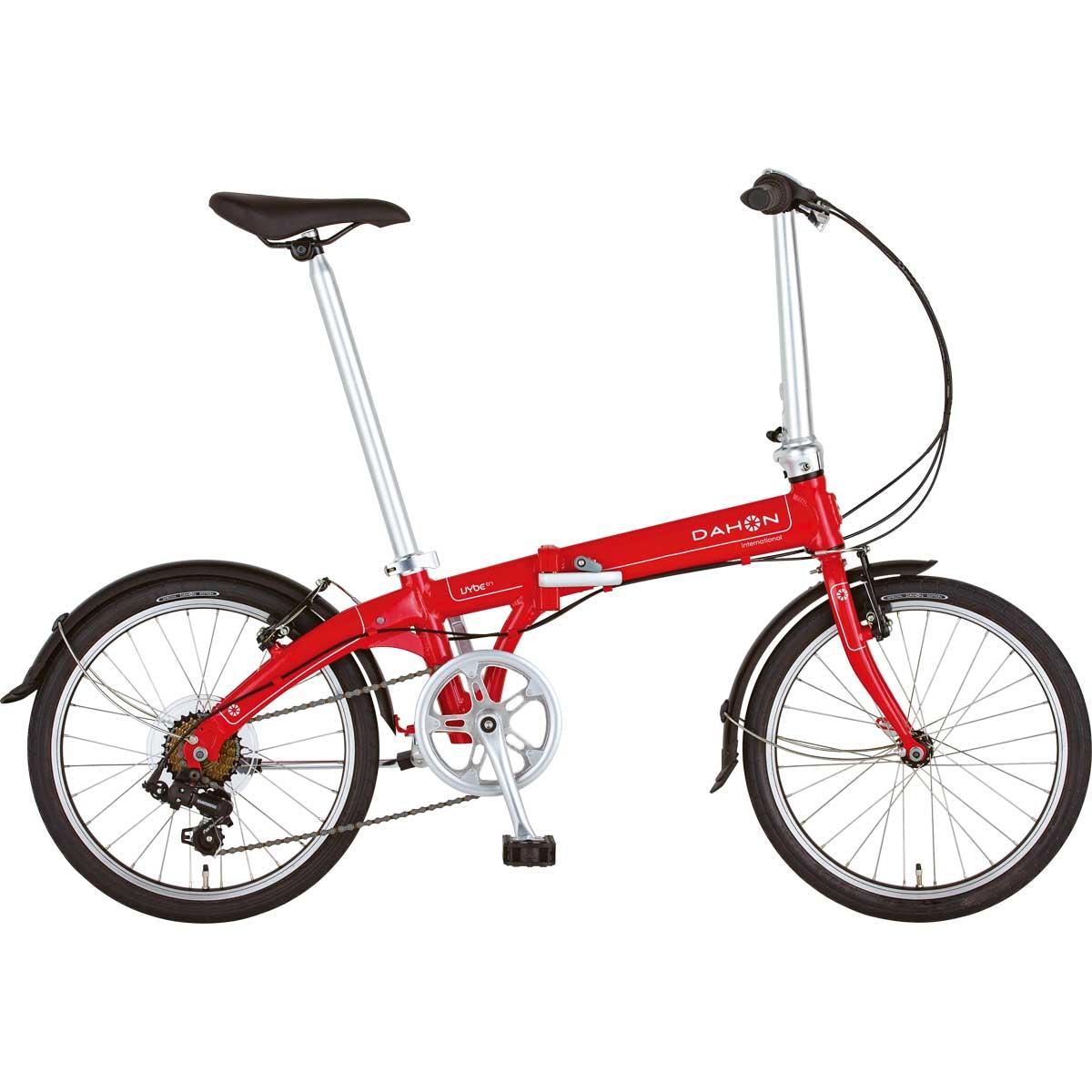 DAHON/ダホン Vybe D7 ヴァイブ D7 カーマインレッド(9006) 折りたたみ自転車 自転車本体